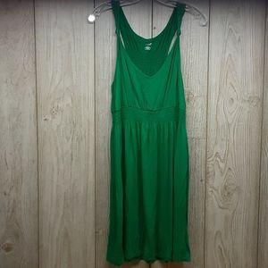 ANA Bright Green Midi Dress
